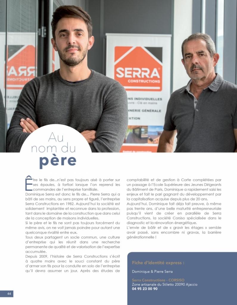 Publication Campa Qui-Serra Constructions-Construction de maisons individuelles