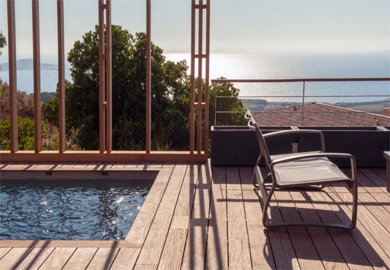 maisons individuelles-maison individuelle-construction de maison individuelle-piscine-maison corse